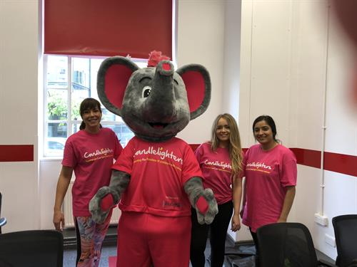 Our Doncaster office took part in a charity abseil for Candlelighters