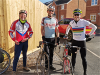 SYNETIQ saddle up for charity bike ride