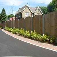 Heavy Duty Timber Fence Panels