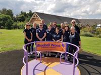 Doncaster's VolkerRail raises over £50,000 for Bluebell Wood Children's Hospice