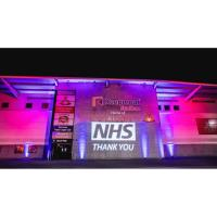 Keepmoat Stadium lights up for NHS heroes