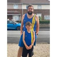Father and Son take on running challenge for DBTH