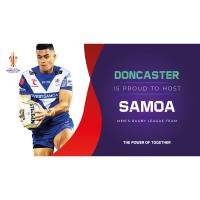 Doncaster to host Samoa as RLWC2021 nation training bases announced