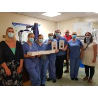 Family return to Bassetlaw Hospital to say thank you to staff