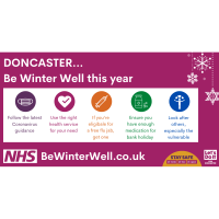 Calling all Doncaster to 'Be Winter Well' this year