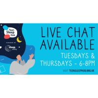 Charity launches live chat for teens to talk sleep