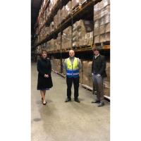 3PL business welcomes Doncaster business colleagues to opening of new sites