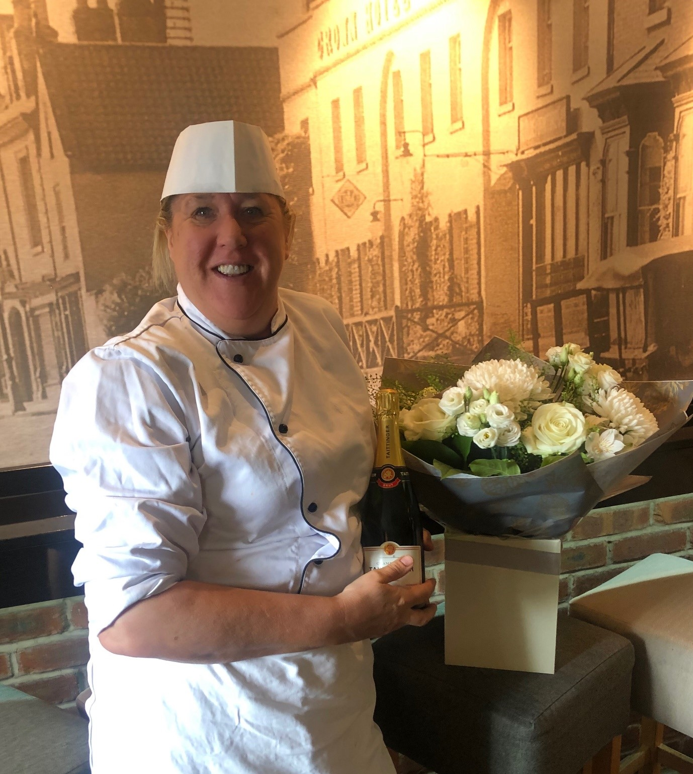 7be56647d234e Head Chef celebrates 35 years at the Crown Hotel