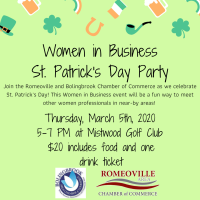 Women in Business- St. Patrick's Day Party