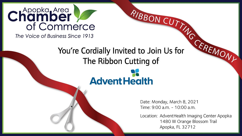 Image for Ribbon Cutting for AdventHealth Imaging Center Apopka!