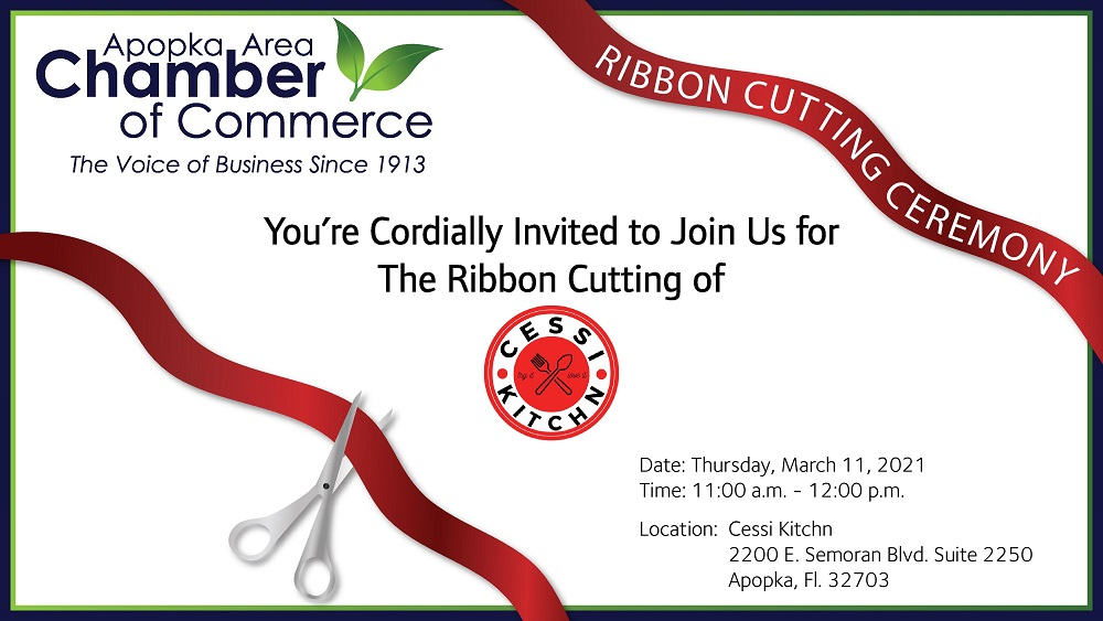 Image for Ribbon Cutting for Cessi Kitchn!