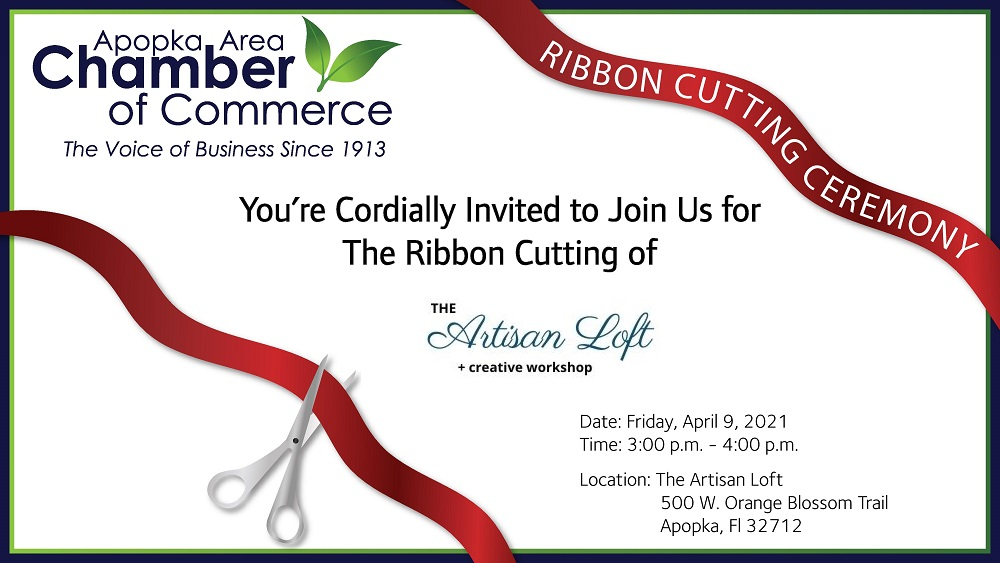 Image for Ribbon Cutting for The Artisan Loft