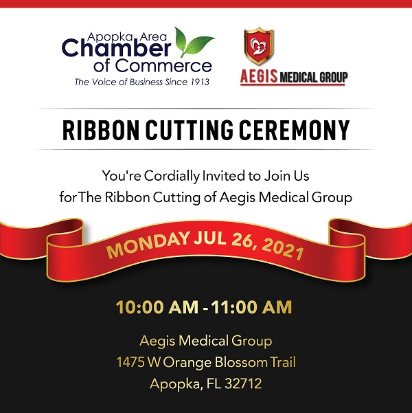 Image for Ribbon Cutting for Aegis Medical Group!