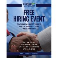Apopka Area Chamber of Commerce Hiring Event