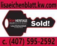 Lisa Eichenblatt, PA,  REALTOR  at Keller Williams Heritage Realty - Altamonte Springs