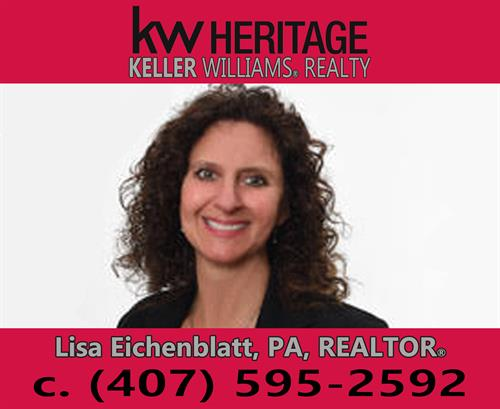 Let Lisa be your preferred Real Estate Consultant!