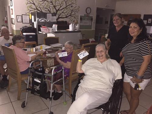 patients at the nursing home