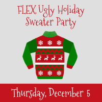 FLEX Ugly Holiday Sweater Party