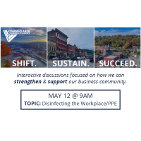Shift. Sustain. Succeed. May 12th (Disinfecting the Workplace)