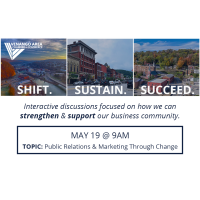 Shift. Sustain. Succeed. May 19th (PR/Marketing Through Change)