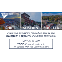 Shift. Sustain. Succeed. May 26th (County Leadership - An Update With the Commissioners)
