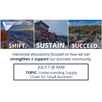 Shift. Sustain. Succeed. July 7th (Understanding Supply Chain for Small Business)