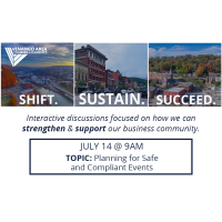 Shift. Sustain. Succeed. July 14th (Planning for Safe and Compliant Events)