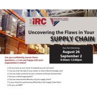 NWIRC Workshop Part 2 - Uncovering the Flaws in your Supply Chain