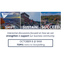 Shift. Sustain. Succeed. - October 8 (Intro to Storytelling)