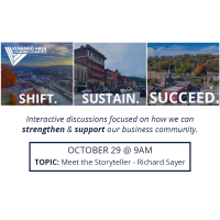 Shift. Sustain. Succeed. - October 29 (Meet the Storyteller - Richard Sayer)