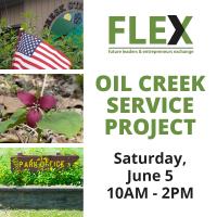 2021 FLEX Service Project - Oil Creek State Park