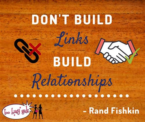 Too Busy Gals Teaches you how to build relationships using social media.