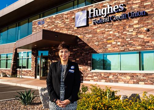 Hughes Federal Credit Union Vail branch manager Annetta Derricotte