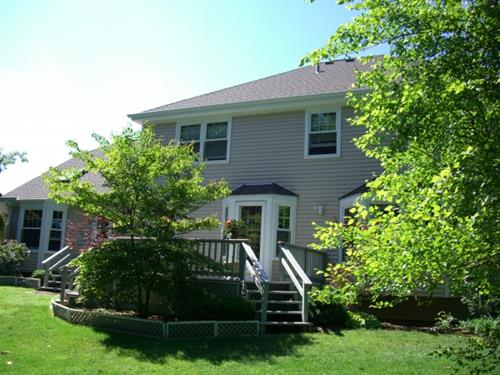 After - New Siding, Roofing, Soffit & Fascia and gutters