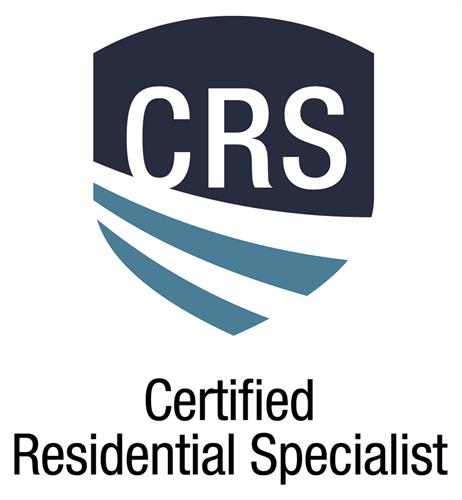 As Certified Residential Specialist designee, I have joined the ranks of highly trained and accomplished top producers with a vast professional network across the nation.