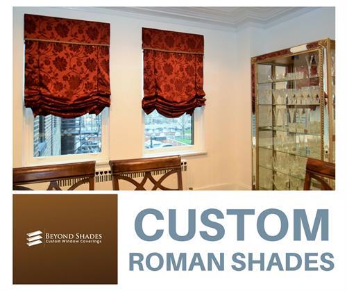 Custom Roman Shades