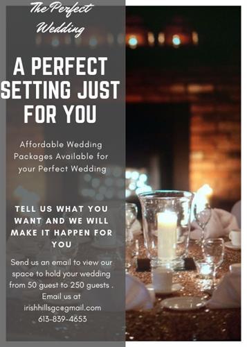 Irish Hills Weddings