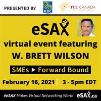 eSAX virtual event featuring W. Brett Wilson