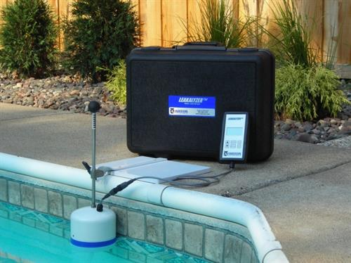 LeakAlyzer measures water to verify active leaks versus evaporation