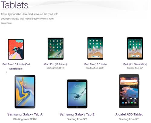 TELUS Tablets and iPads for Business