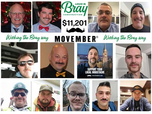 Bray Team Movember 2019