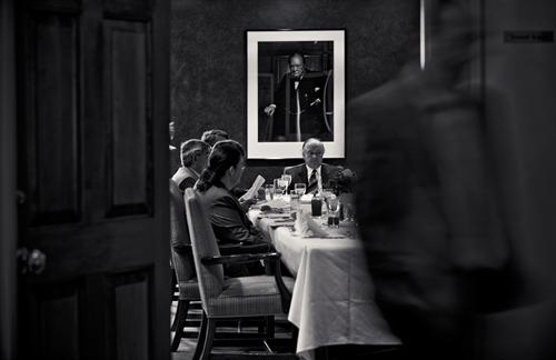 Meeting in the Karsh Room