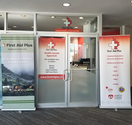 First Aid Plus Main entrance