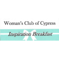 Woman's Club of Cypress-Inspiration Breakfast