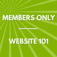 "Members-Only ""Mix & Learn"": Website 101"