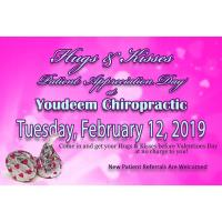 Hugs & Kisses Patient Appreciation Day-Youdeem Chiropractic