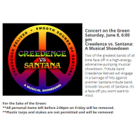 Concert on the Green: Creedence vs. Santana