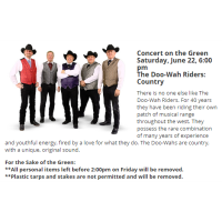 Concert on the Green: The Doo-Wah Riders: Country