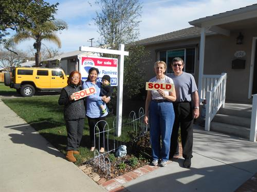 Sold and New Home! Lakewood, CA