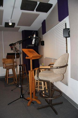The Voiceover Booth at Creative Media